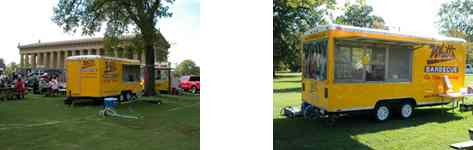 Whitt's Barbecue Catering Vehicles #1