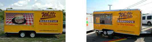 Whitt's Barbecue Catering Vehicles #2